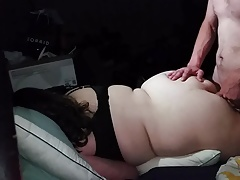 Plumper wifey arse  angle 1