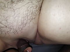 Plumper Internal ejaculation