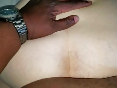 Unshaved Sidepiece Doggystyle