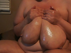 Fleshy greasing her large..