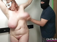 Smacking my slave's fat..