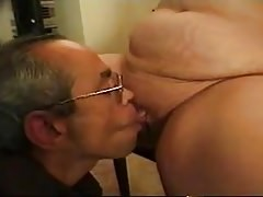 GRANNY Ass-fuck Plus-size