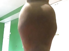 Ginormous Butt Clap in Dress