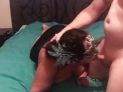 Cuckold Mega-bitch  With Her..