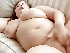 Lush hefty bra-stuffers solo