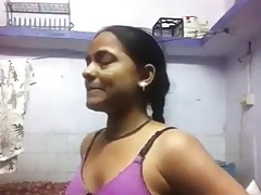 Indian Doll Changing For Her