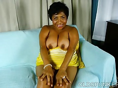 Super stellar mature ebony..