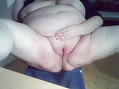 SSBBW milks her naughty..