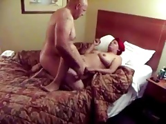 Mature Duo Plumbing In