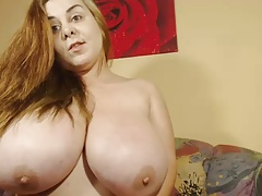 Fat tits on uber-sexy camgirl
